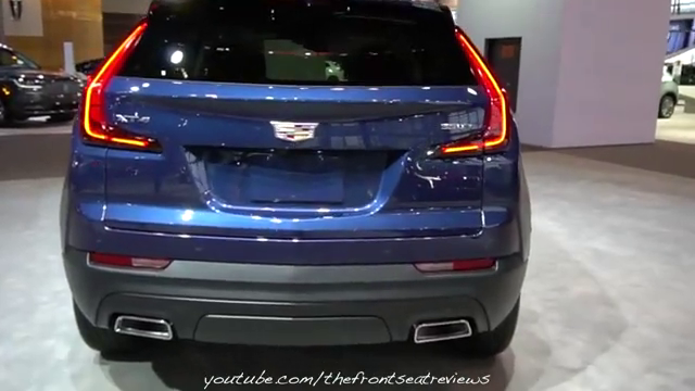 视频:2020款凯迪拉克XT4的尾灯造型更时