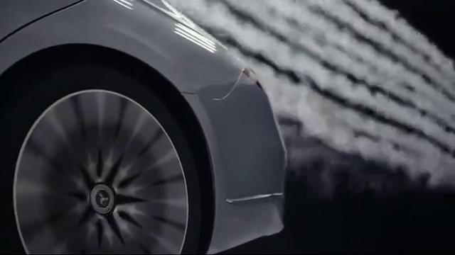 视频:全新一代奔驰S级W223风洞试验,来了解下
