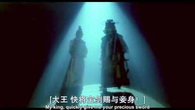 多年后再次同台,虞姬戏台自刎,霸王虞姬终成绝唱