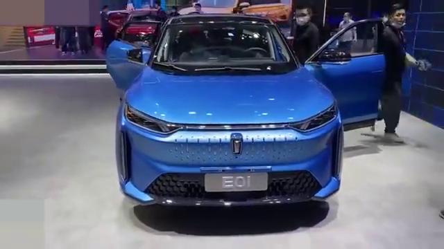 视频:2021款一汽奔腾E01外观细节抢先实拍,你觉得咋样