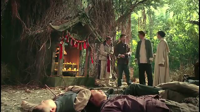 老九门:大土司将孩子葬在树顶,张副官一人就上去,真人不露相啊