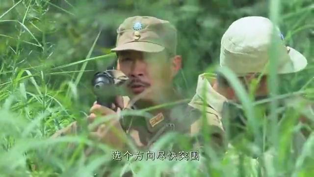 踏破硝烟:四名国军丛林对战50名日军,只见手起又刀落,真是精彩