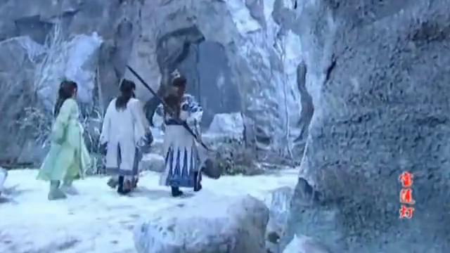 宝莲灯:沉香来昆仑山找开天神斧,意外得知二郎神5年前也来过