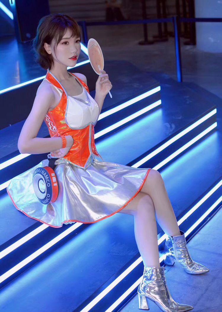 Chinajoy首日最有气质showgirl盘点,小姐姐太仙了吧!