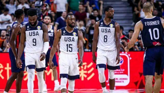 美国男篮两连败,创造最差历史成绩!