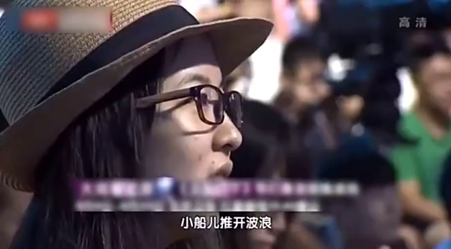 边潇潇(正阳门下中饰演苏萌)现场唱歌声音比电视剧中更加迷人