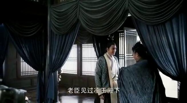 张弓《醉玲珑》莫长老,侠骨风范与殿下亲密交谈