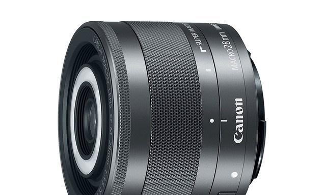 带补光灯的微距头 佳能28mm F3.5 IS STM