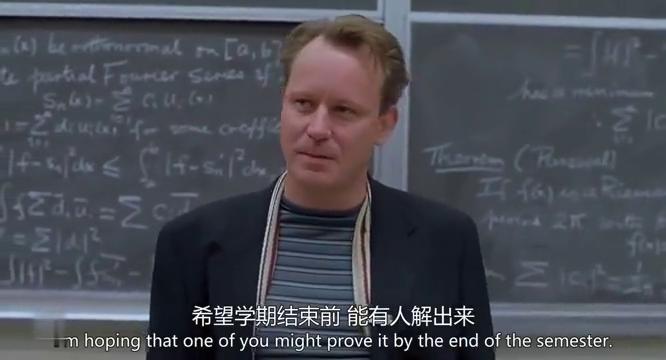 扫地少年轻松破解黑板上的数学题,教授得知后一脸不可思议