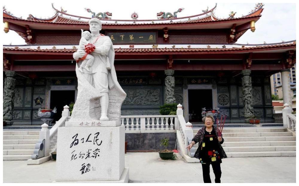 中国最特殊的一座寺庙,供奉27名解放军战士,被誉为天下第一奇庙