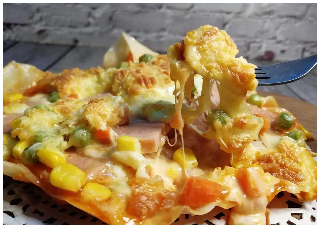 饺子皮披萨这么好看,好不好做?好不好吃?烤的好吃?煎的好吃?