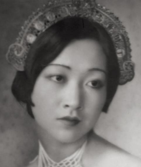 美籍华人影星黄柳霜旧照