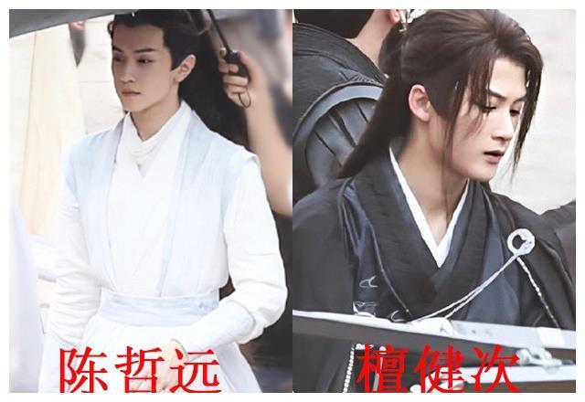 《杀破狼》最新路透,檀健次白色盔甲贼帅,陈哲远消瘦很多