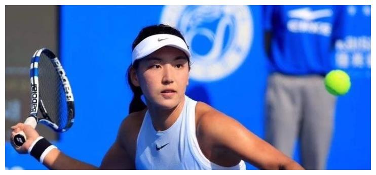 又一网球天才少女,颜值与天赋并存,实力有望和李娜齐名