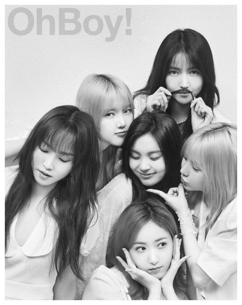 女子组合GFRIEND《OhBoy!》杂志最新写真画报公开