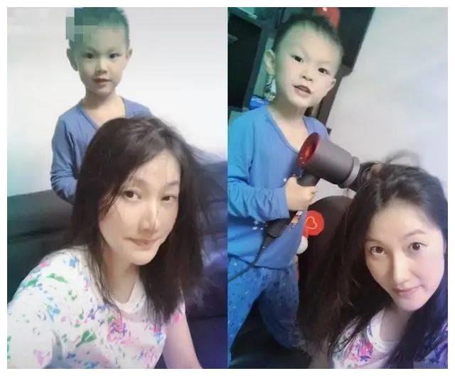 38岁谢杏芳转型当总裁,素颜沧桑显老态,儿子和林丹共用一张脸