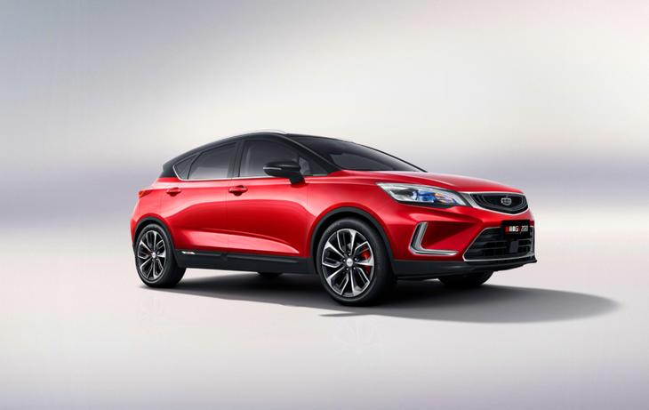 国产紧凑型SUV爆款!2020款帝豪GS官图发布,全系更换红黑撞色