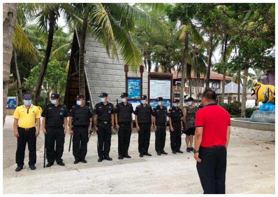 安全生产!海南分界洲岛旅游区开展反恐应急演练!