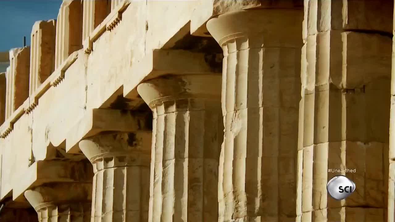 3d拆解古代世界奇迹之一揭秘帕特农神庙的结构之美