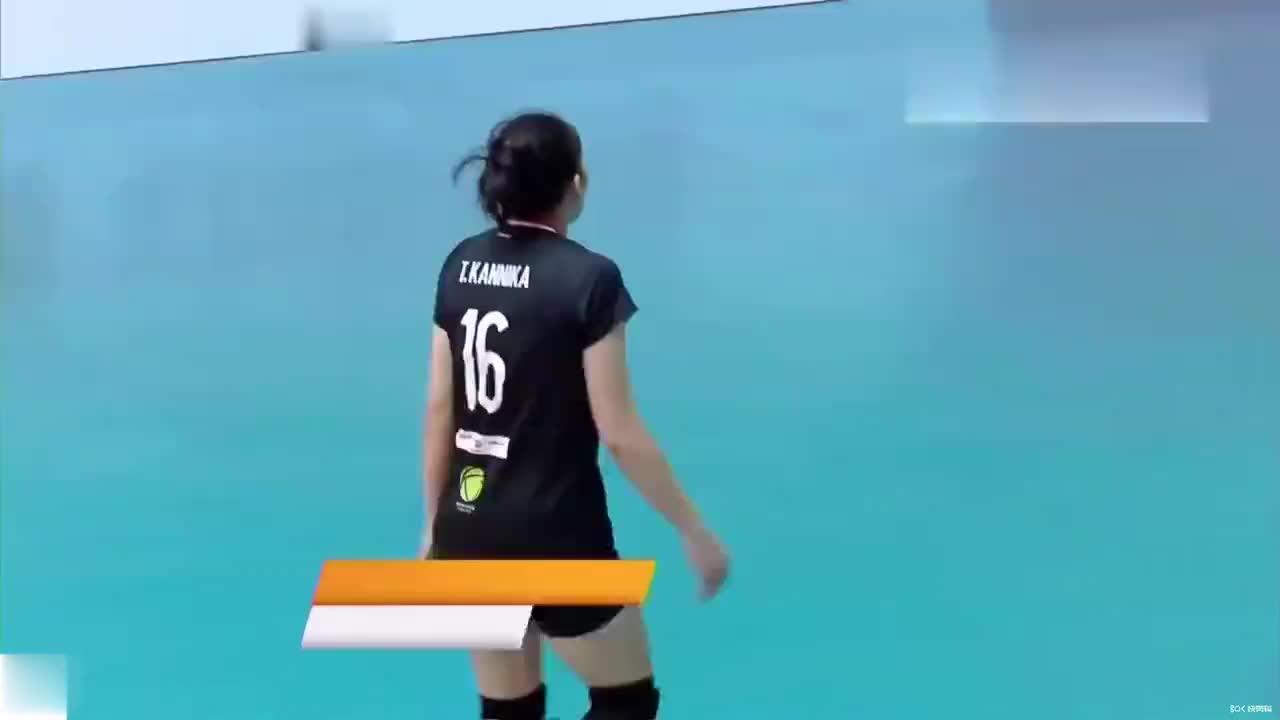 坎尼卡·蒂帕乔1.67米,泰国孔敬女排主攻手比赛亮点