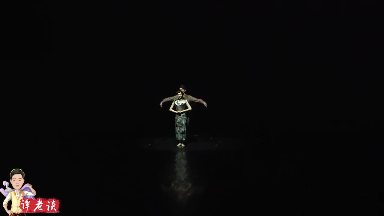 陈伟科舞剧《婉容》,杨峥和张家恺的双人舞,难怪陈炳睿着急了!