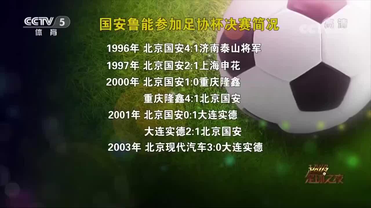 """精彩盛宴:足协杯""""专业户"""",京鲁足协杯冠军史"""