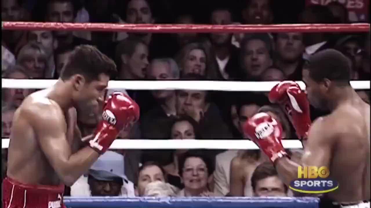 奥斯卡德拉霍亚职业生涯战败篇,最后一场惨遭帕奎奥重拳KO