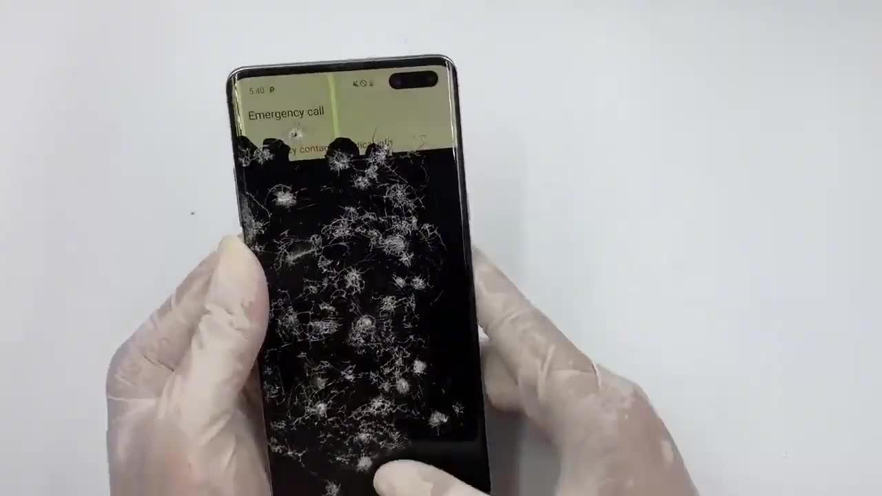 三星Galaxy S10 plus 5G更换屏幕总成