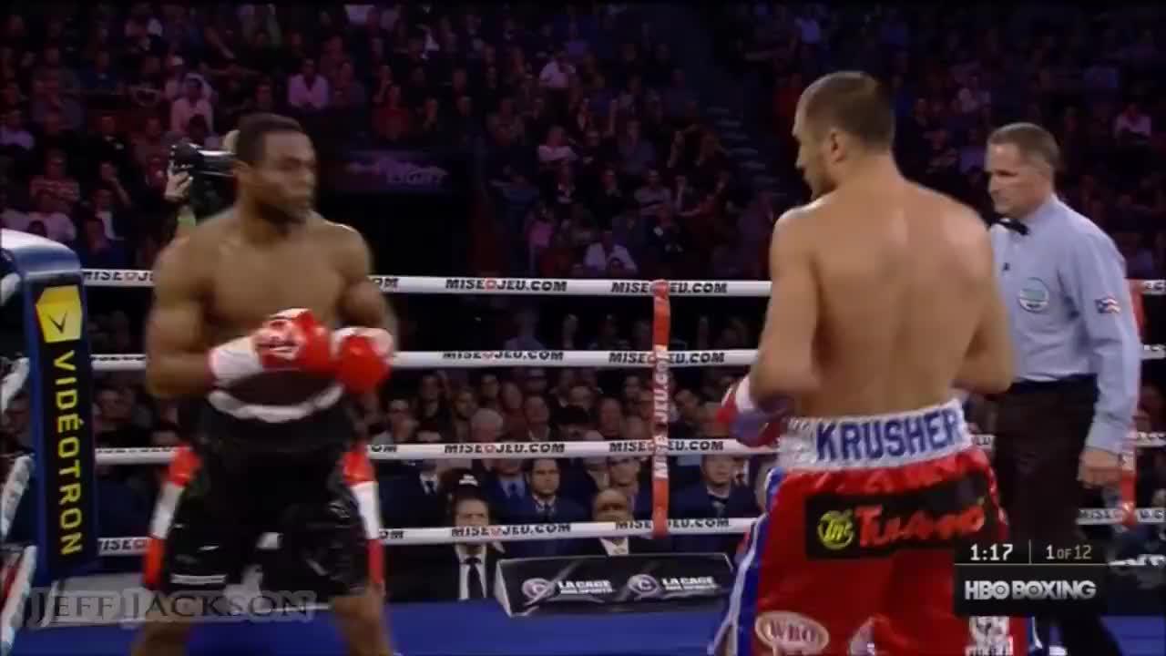 巅峰时期的科瓦列夫重拳太强悍,帕斯卡拼尽全力抵抗仍惨遭KO