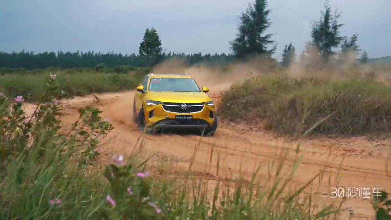 视频:一般SUV真不敢这么豁别克昂科威S拉力赛极限测试