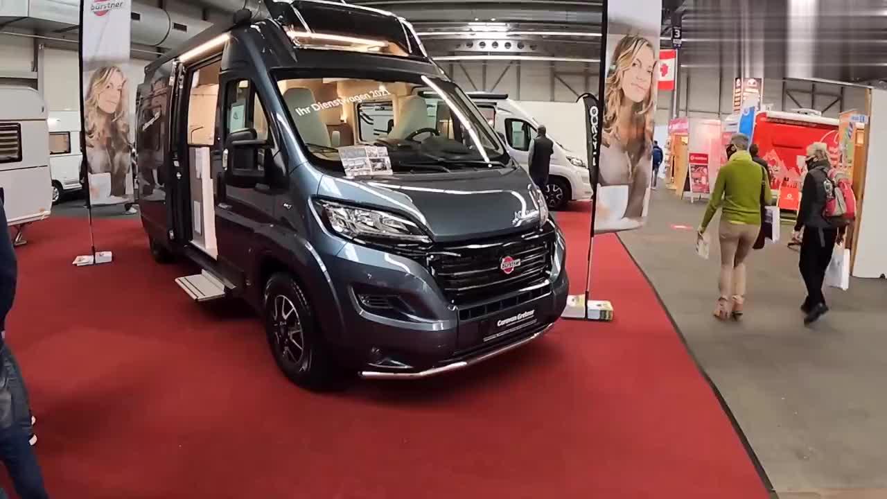 2021菲亚特杜卡托布尔斯特·伊莱西奥C600房车 内外巡视