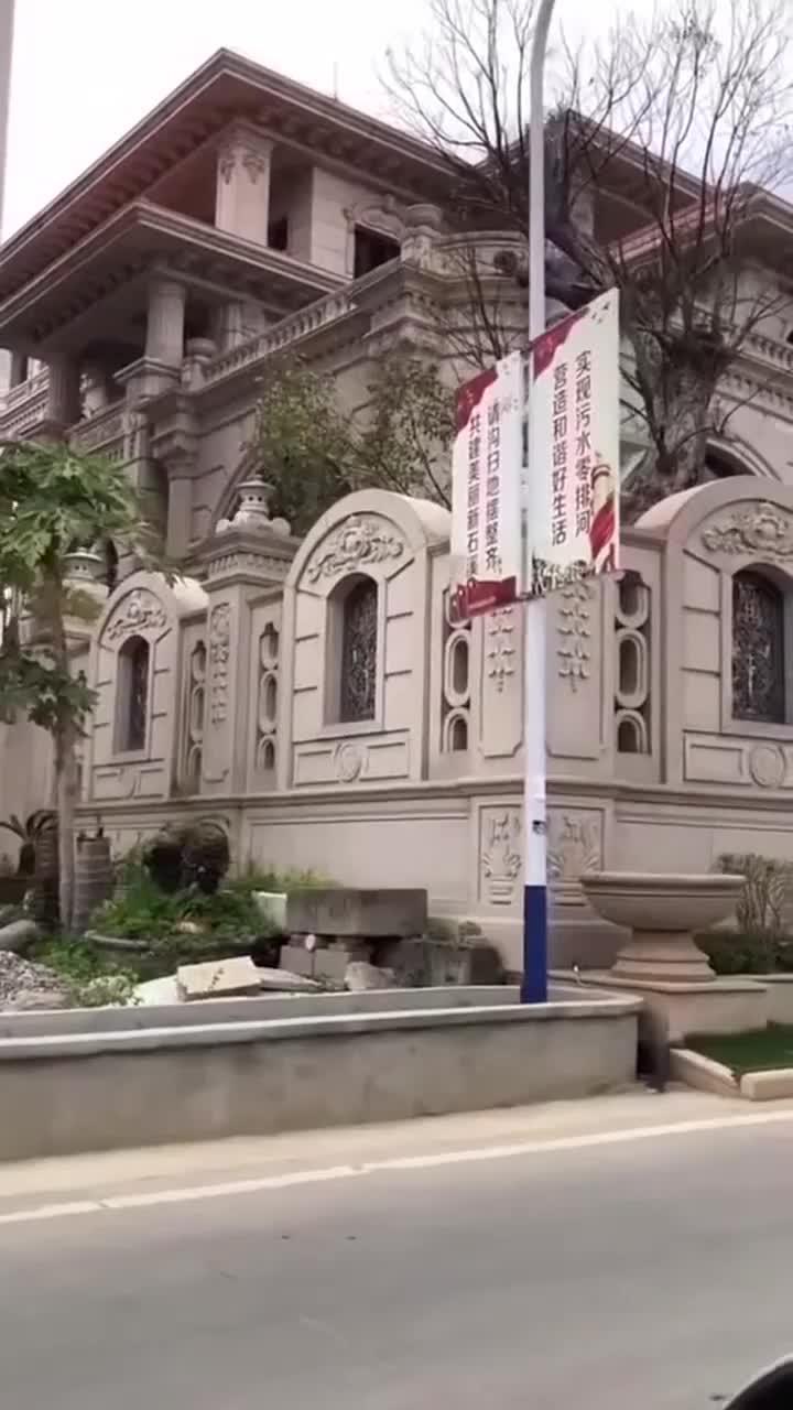 有钱人建的别墅群门口都放着大象石雕是寓意什么吗