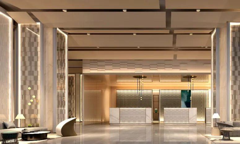 波光潋滟,舒展空间律动——青岛国信金融中心酒店