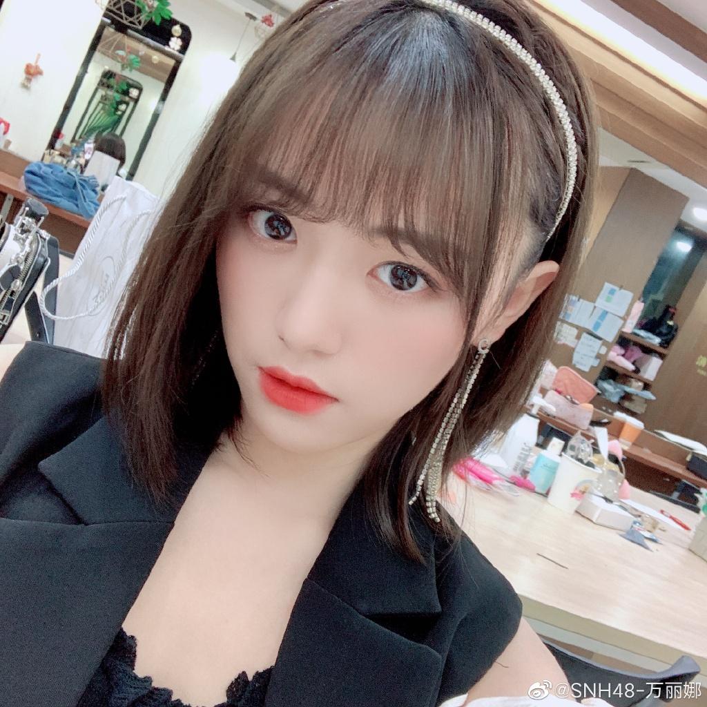 SNH48-万丽娜美少女歌手可爱写真美照好看