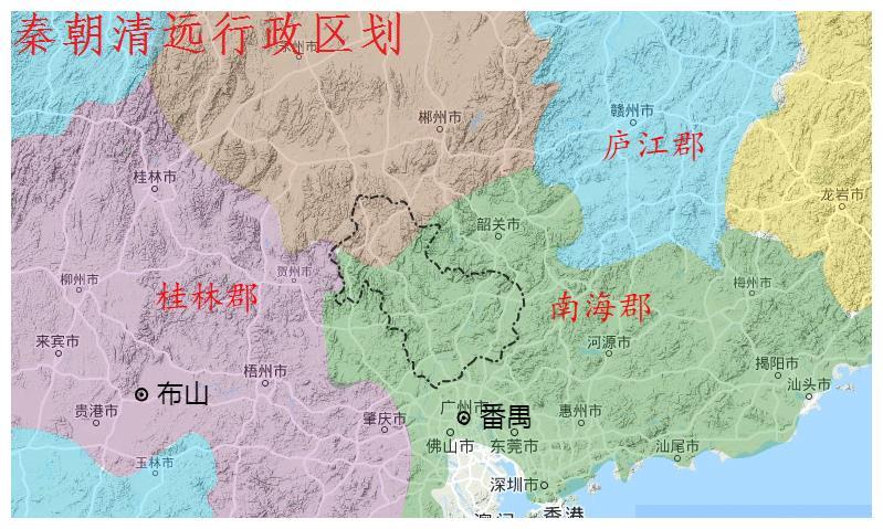 广东省清远市、连州市、