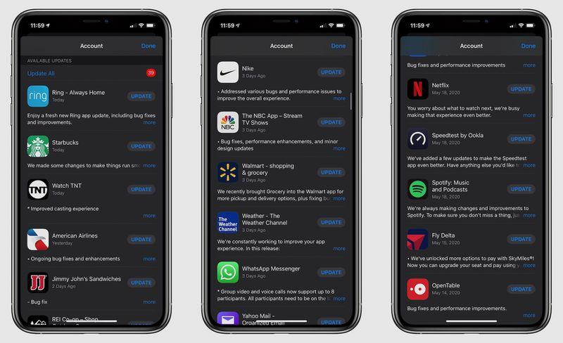 App Store收到更新了吗?/苹果头戴耳机