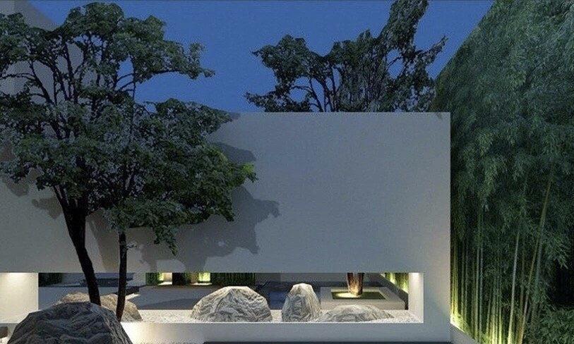 庭院设计——新中式风格