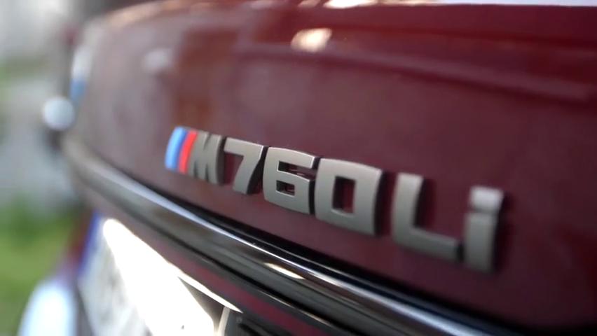 视频:体验2020款宝马M760li,打开自动泊车才知道有多霸气!