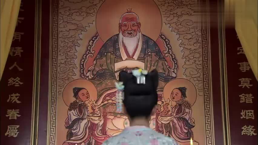 失宠王妃:月筝一心要嫁给凤麟,虔心跪在月老庙求姻缘!