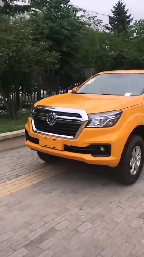 视频:东风锐骐6国产硬派皮卡,拥有惊