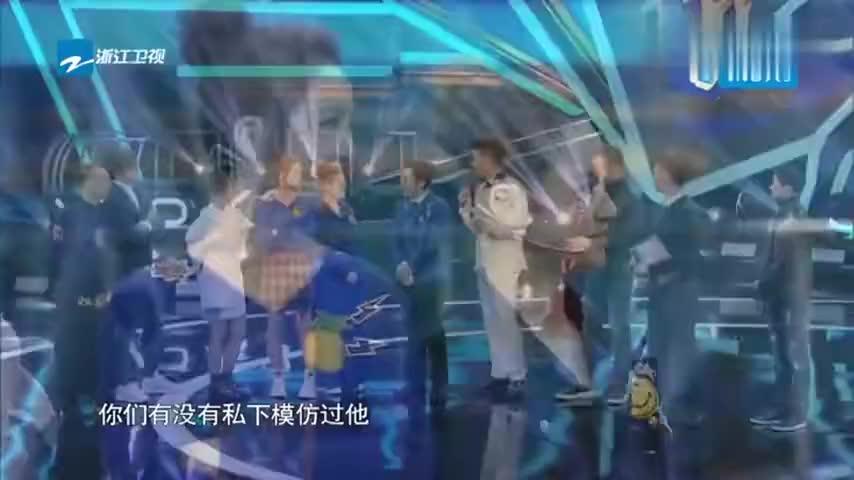 《王牌对王牌5》阿sa现场模仿谢霆锋,谢霆锋竟害羞了