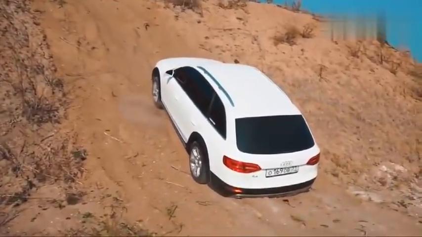 视频:奥迪A4、斯巴鲁、丰田做一个爬坡测试,你能猜到结局算我输