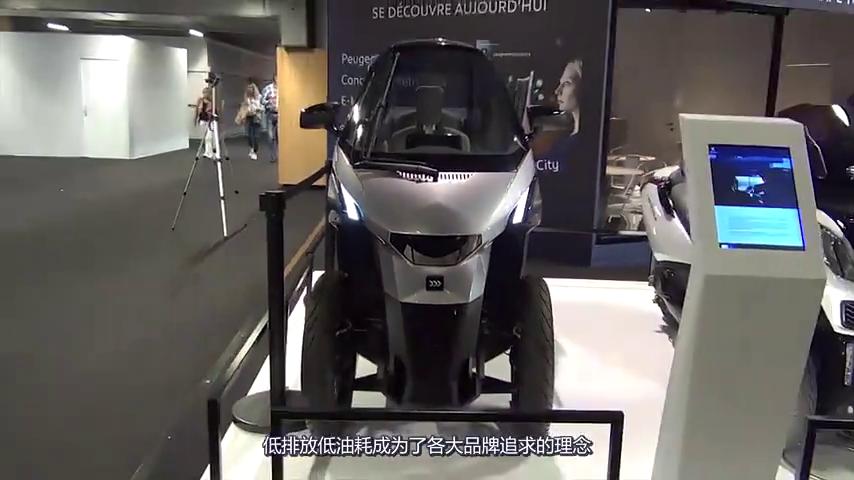 有它还要啥摩托新车配空调安全气囊,仅售2万,续航300公里