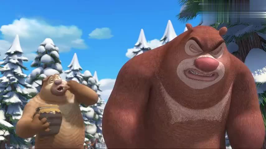 熊出没强哥自作聪明,比赛中耍小花招,没想到自己先中招