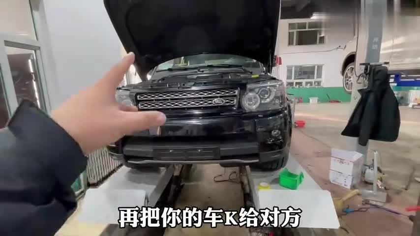 视频:帮粉丝花22W淘了一台修不起的车,十年车龄的V8路虎揽胜,香吗?