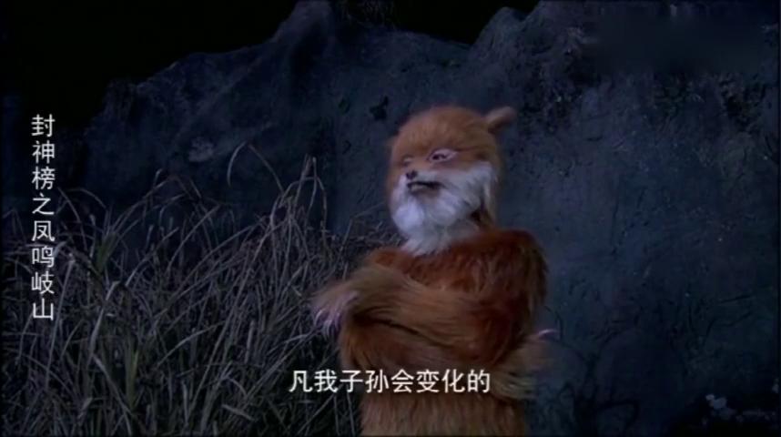 封神榜:一人得道鸡犬升天,妲己为皇后,直接将狐子狐孙变神仙