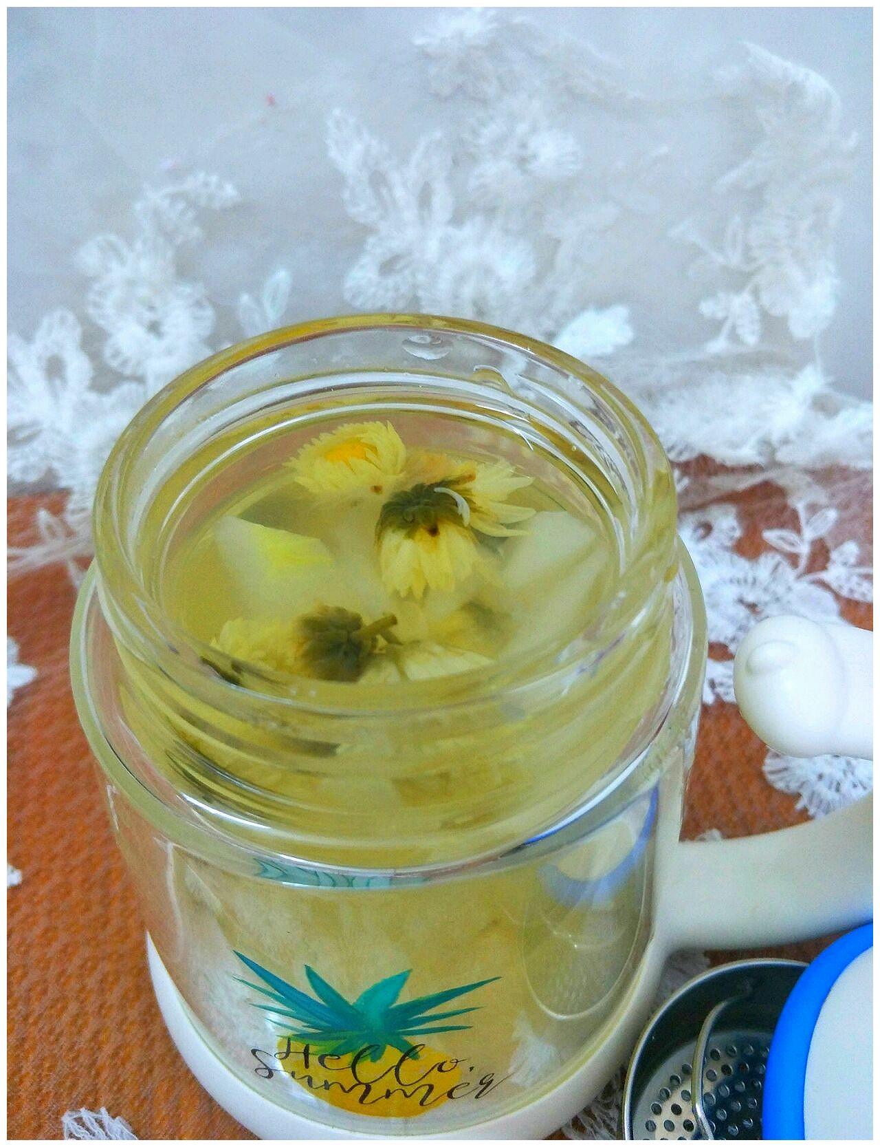 冬瓜菊花茶的做法