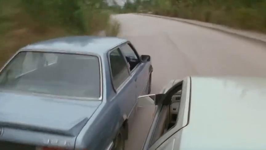 两富家子弟开豪车飙车,不料迎面冲出一辆大卡车,结果悲剧了