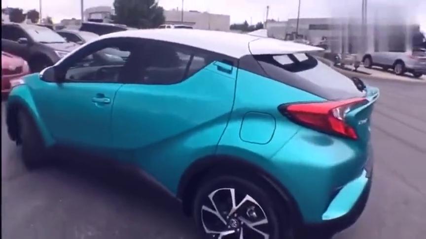 视频:新款丰田C-HR车钥匙按下,看到酷炫的外观后心动了