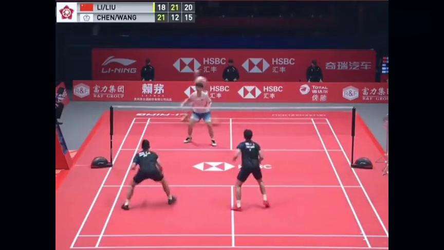回顾世界羽联广州总决赛:双塔拿下中华台北第一男双,晋级决赛